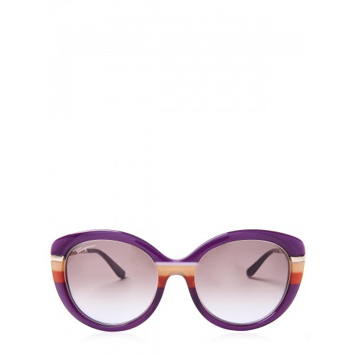 Ferragamo Femme Lunettes de soleil Violet