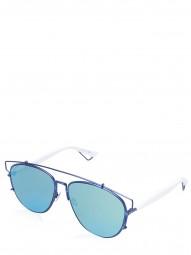 Dior Femme Lunettes de soleil Bleu foncé